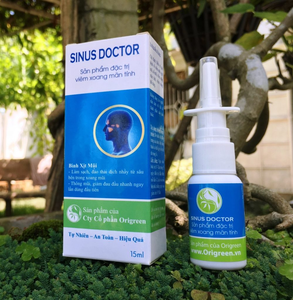 thuốc trị viêm xoang sinus doctor
